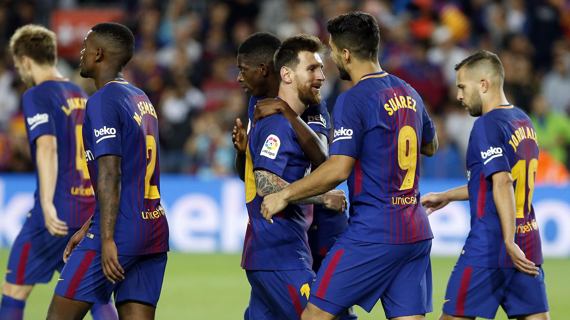 Arsenali po e  rrëmben  yllin e Barcelonës