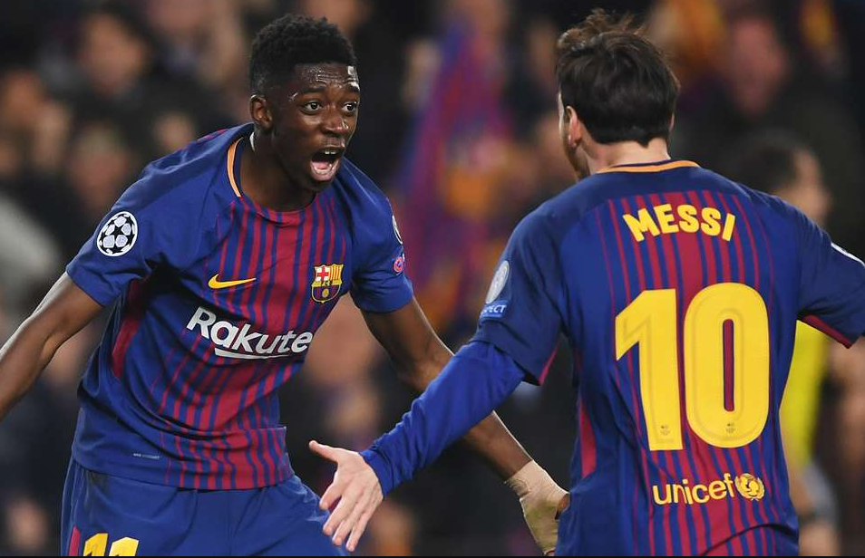 Barcelona kalon në çerekfinale  shkëlqejnë Dembele dhe Messi