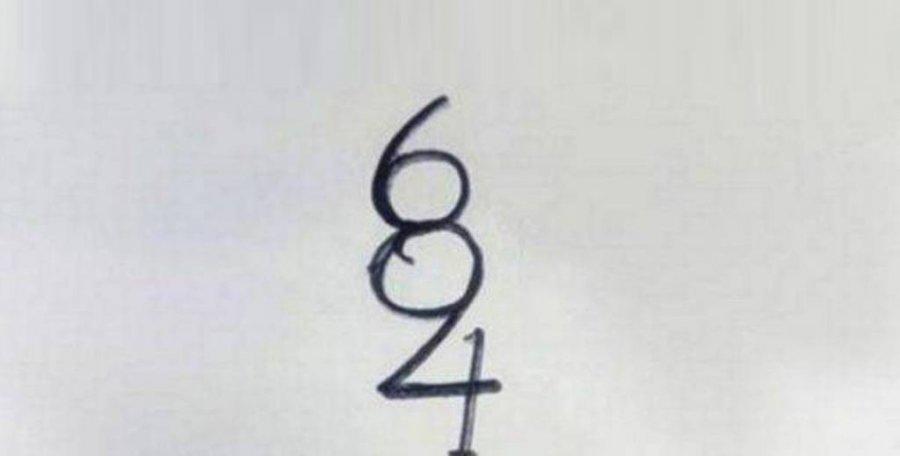 Test: Sa numra shihni në këtë figurë? Përgjigja nuk është aq e thjeshtë!