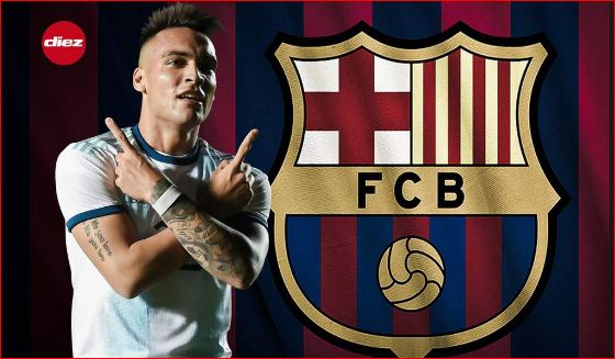 Barcelona e pranon  po e vëzhgon Martinezin