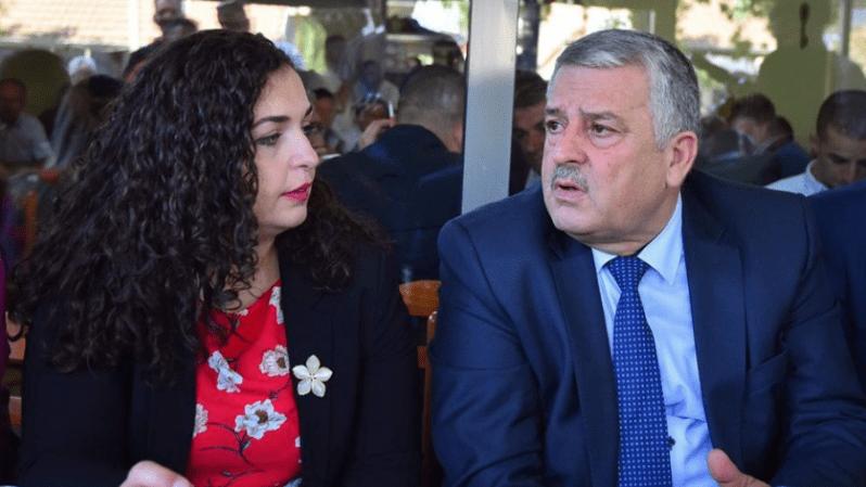 Vjosa Osmani i përgjigjet Agim Veliut  e quan shpifës e shantazhues