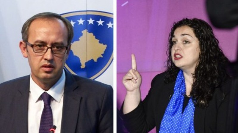 Avdullah Hoti për Vjosa Osmanin  Nuk ka funksion kushtetues për t u bërë pjesë e dialogut