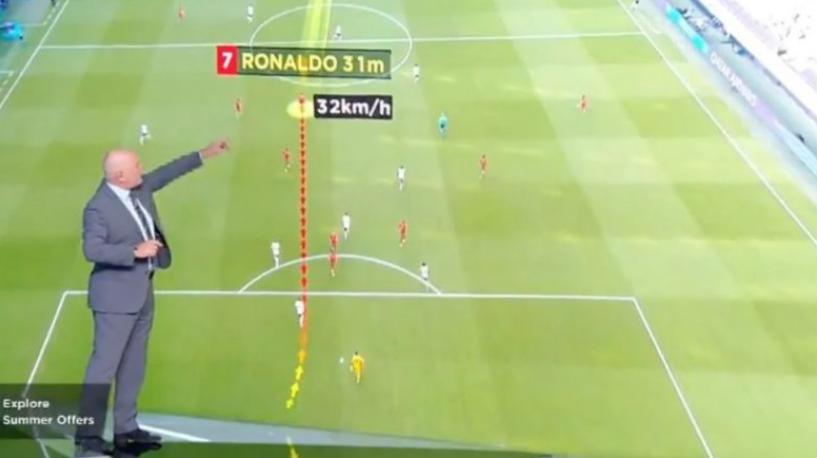 Pamje se sa shpejt vrapoi Ronaldo në golin ndaj Gjermanisë